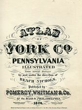 Atlas of York Co. Pennsylvania illustrated - Beach Nichols