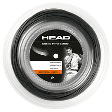HEAD Sonic Pro Edge 1.30 mm 16 Tennis Stringhe 200m REEL