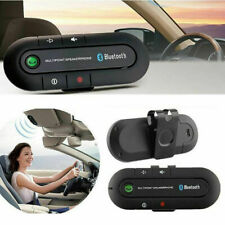 Wireless Bluetooth Hands Free Speaker Car Kit Visor Mobile Smart Clip Phone I3C5
