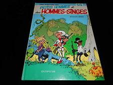 Seron : Les aventures des petits hommes 14 : Et des hommes singes EO 1983