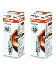 2 X OSRAM H1 Lampe 70 Watt Truckstar 64155 P14.5s 70W Birne Scheinwerfer 24V