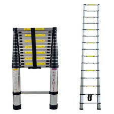 4,4m Aluleiter Mehrzweckleiter Teleskopleiter Stehleiter 15 Sprossen Ladder