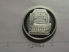 THE ROCKETTES 60TH ANNIVERSARY RADIO CITY MUSIC HALL 1992 RARE 999 SILVER COIN