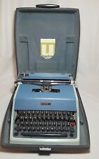 Vintage Olivetti Underwood Model 21 Typewriter w/ Hard Case