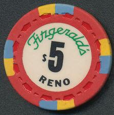Fitzgerald's Reno $5 Chip 1976