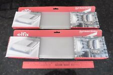 "Elfa Shelf basket dividers 16"" x 4""   NEW   2 packages of 2  so 4 total"