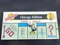 MONOPOLY Board Game CHICAGO Edition COMPLETE Hasbro 2000 RARE Parker USA VINTAGE
