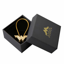 DC Movie Justice League Wonder Woman Metal Logo Pendant Key Ring Keychain Gift