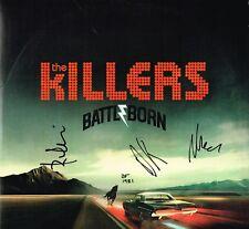 The Killers SIGNED Battle Born Vinyl by 4 Brandon Flowers COA