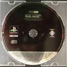 PROMO Kula World PlayStation UK PAL Anglais ・ ♔ ・ Pre-Release complet jeu PS1 PS2 RARE