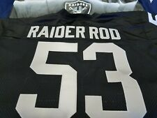 Your Size Oakland Raiders Custom Football Jersey.Your Name&Number-SEWN-ON.