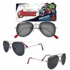 Boys Character Metal Sunglasses UV protection for Holiday - Marvel Avengers