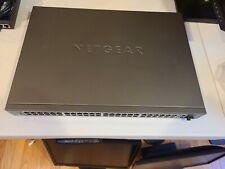 NetGear Prosafe M4100-50-PoE Ethernet Switch 48-Port L2+PoE Managed Fsm7250P