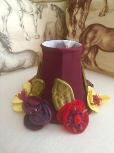 RETIRED New in Box MACKENZIE-CHILDS Botanica Chandelier Lamp Shade