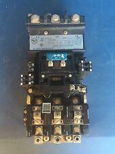 Allen Bradley Nema Size 3 509series 90A 600V 50HP 3P Starter With 120Vcoil