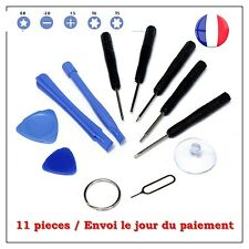 KIT OUTILS DEMONTAGE TOURNEVIS IPHONE 3 4 5 6 6S 6+ 7 IPAD IPOD SAMSUNG TABLETTE