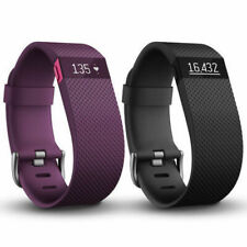 Fitbit Charge HR Wireless Activity & Heart Rate + Sleep Wristband Black Purple