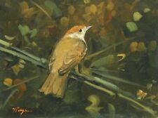 Oil Small (up to 12in.) Birds Art Paintings