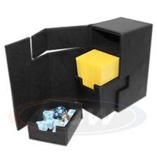 1 BCW Black LX Deck Locker MTG Premium Storage Box