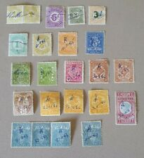 23 various  VICTORIAN State Stamp Duty stamps used