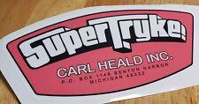 Super Tryke Heald Decal