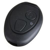 2 Bouton Boitier Coque Case Housse Clé Télécommande Noir Pour Rover MG ZT 75 (