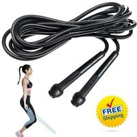 Skipping Rope Nylon Adjustable Jump Boxing Fitness Speed Training