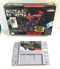 Metal Morph (Super Nintendo Entertainment System SNES, 1994) GOOD