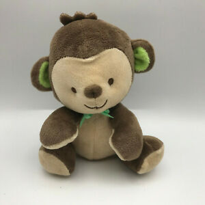 "My Little Snugamonkey Brown Cream Monkey 7"" Plush Fisher Price Security Baby Toy"