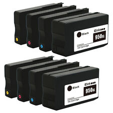 8PK HP 950XL 951XL Ink Cartridges for HP Officejet Pro 8610 8615 8620 8625 8630