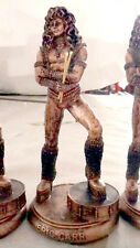 """KISS, RARE BRONZE, ERIC CARR 7 IN HAND PAINTED FIGURE """"CREATURES OF THE NIGHT"""""""