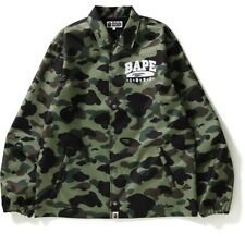 Bape 1st Camo Coach Jacket Green Large