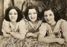 Boswell Sisters Close Farm-ony Publicity Still 1932 8x10 Matted to 11x14 #T63