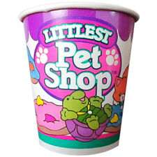 LITTLEST PET SHOP VINTAGE 7oz PAPER CUPS (8) ~ Birthday Party Supplies Beverage