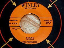 PERSUADERS~TEARS~WHAT COULD IT BE~WINLEY`235~RARE~ DOO WOP 45