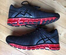 ASICS GEL-Quantum 180 TR  Black/Red size US 8
