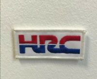 HRC honda sports art badge Embroidered Iron on Sew on Patch