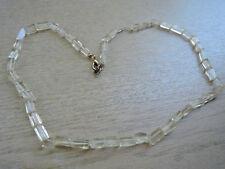 Bergkristall Kette Armband Ohrschmuck Edelstein t34