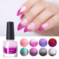 UR SUGAR 6ml Farbwechselnd Nagellack Sequins Temperatur Nail Art Maniküre