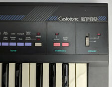Casio Casiotone MT-110 vintage synthesizer keyboard 49 keys 9VDC