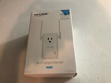 TP-Link N300 Wi-Fi Range Extender (TL-WA860RE) Complete with box cd manual cord