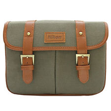 Nikon D-SLR Camera Small Shoulder Bag /Khaki for D5500 D5300 D5200 D5100 D5000 i