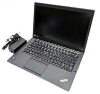 "Lenovo ThinkPad X1 Carbon 14"" Laptop i7-5600U 2.60GHz 8GB RAM 256GB M.2 Win 10"