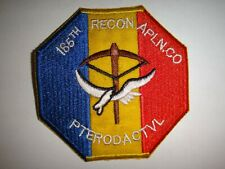 """Vietnam War Patch Us 185th Recon Airplane Company """"Pterodactyl"""""""