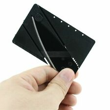 5x Portable Outdoor Cardsharp Credit Card Safety Folding Knife Survival Tool N