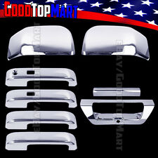 For Ford F150 2015 2016 Chrome Covers Set Mirrors+4 Doors SMART+Tailgate CAMERA