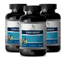 hoodia cactus - HOODIA GORDONII 2000mg 3 Bottles - weight loss natural