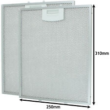 Aluminium Mesh Grease Filter for BOSCH NEFF SIEMENS Cooker Hood 250 x 310mm x 2