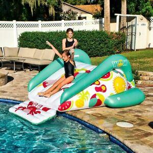 WOW Inflatable Soaker Sprinkler Pool Water Slide Large Speed Outdoor Backyard Su