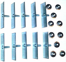 "Ford 1/2""-2-1/2"" Body Fender Door Belt Trim Moulding Molding Push Clips 10pcs Q"
